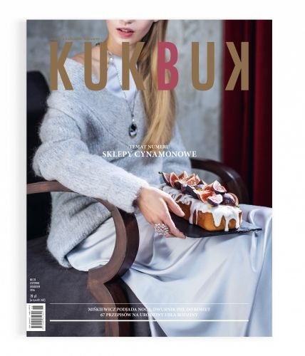 Kukbuk cover, photo: dinnershow studio - Sklepy Cynamonowe