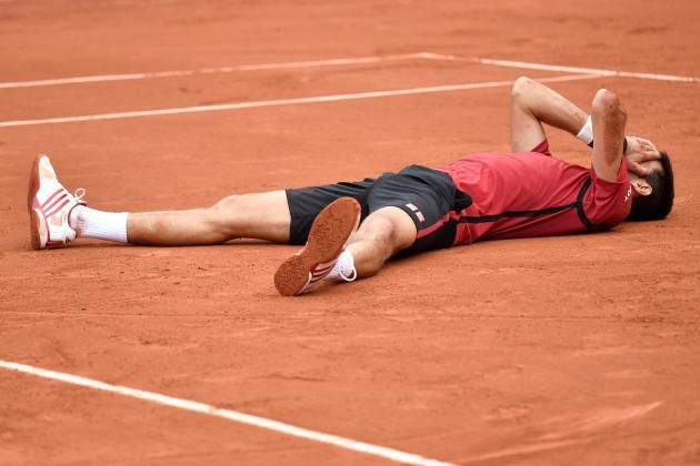 Novak Djokovic vs. Andy Murray: French Open 2016 Men's Final. I just can't believe how much i love him!