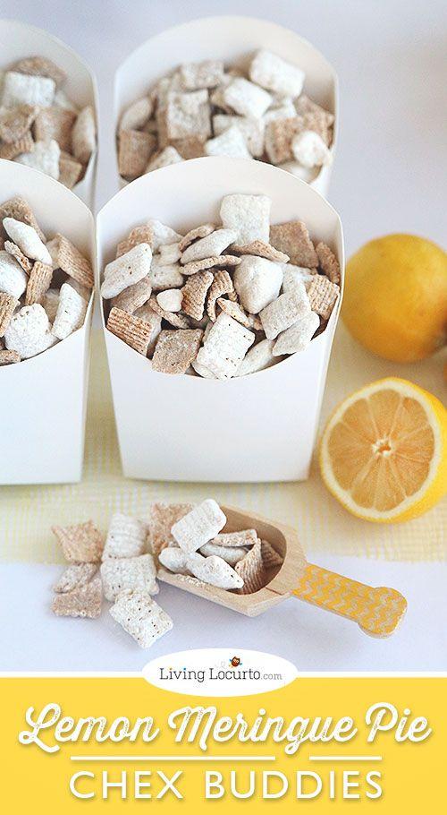 Lemon Meringue Pie Chex Party Mix Recipe.