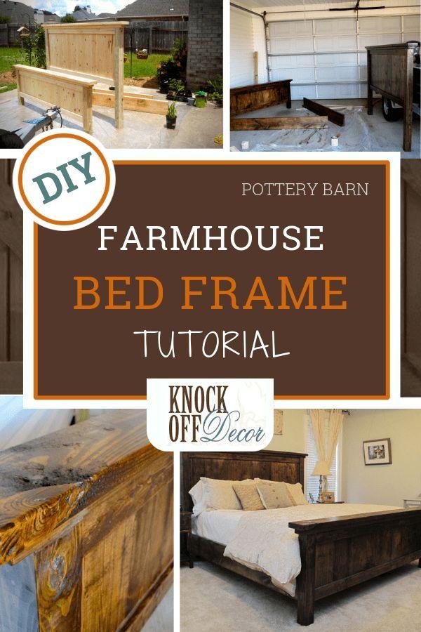 King Size Farmhouse Bed For 250 Farmhouse Bedding Farmhouse Bed Frame Diy Farmhouse Bed