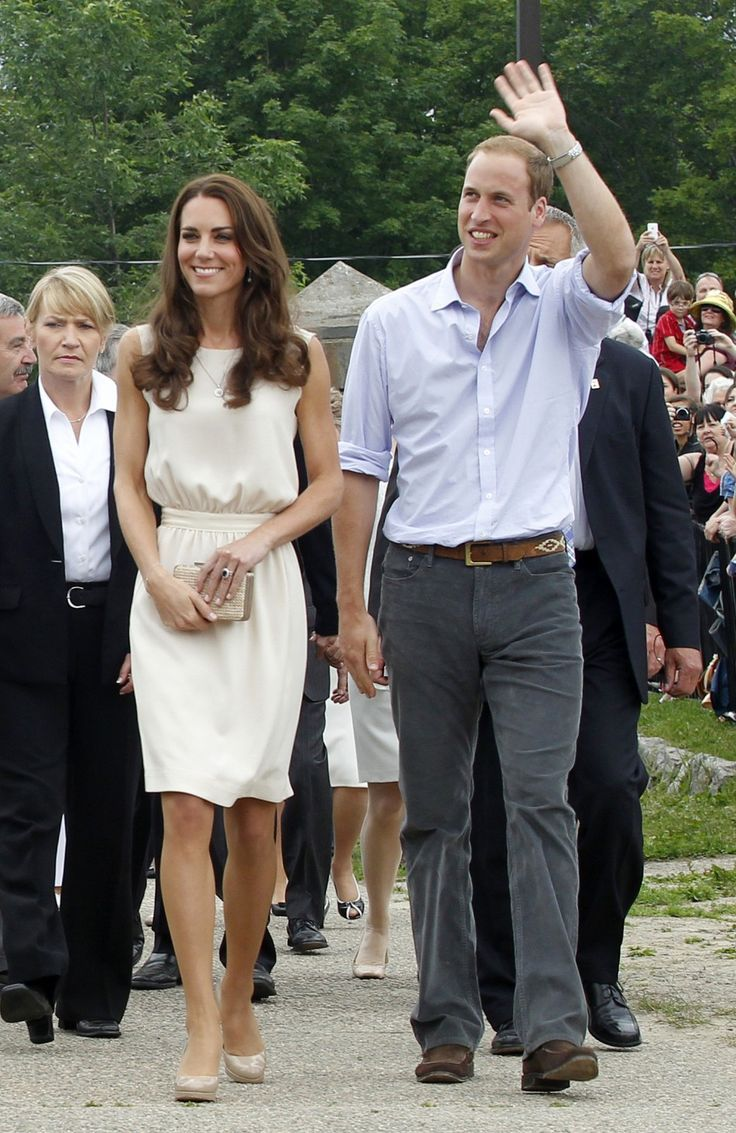 Duke and Duchess of Cambridge with L.K. Bennett shoes