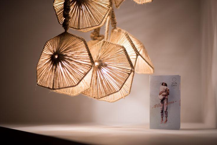 #lightingdesign #handmade #luminaires #okapilighting #cocomat #pillowmenu #designhotel #details Ph by K. Sofikitis