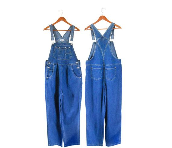 Maternity Clothes Women Denim Overalls Vintage by #ShineBrightVintage
