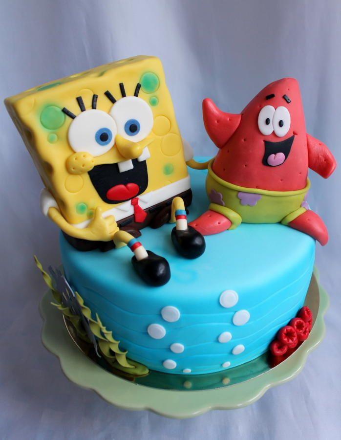 How To Make A Spongebob Cake Out Of Cupcakes