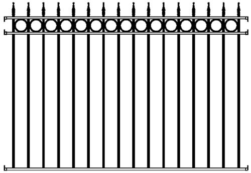 Best 25+ Wrought Iron Fence Panels Ideas On Pinterest