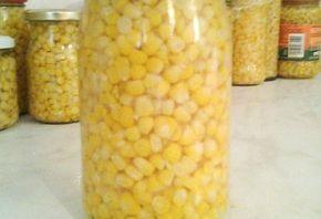 Főtt kukorica télire üvegben | NOSALTY – receptek képekkel