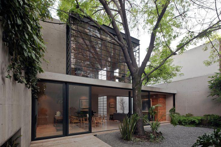 Galería - Casa Estudio Hill / CCA Centro de Colaboración Arquitectónica - 1