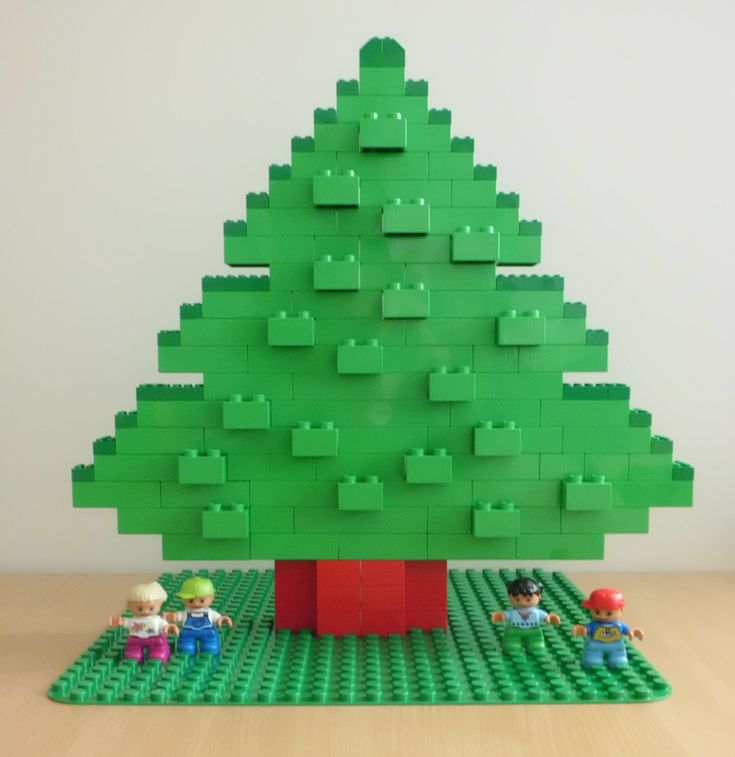 lego christmas tree building instructions
