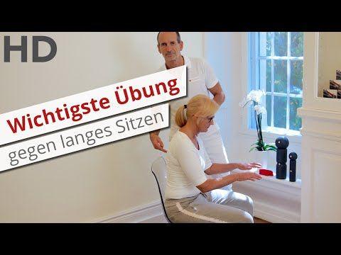 Die wichtigste Übung gegen langes Sitzen // Rückenschmerzen, Lendenwirbelsäule, Rückenübungen - YouTube