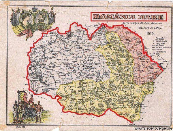 Romänia Mare - Königreich Rumänien