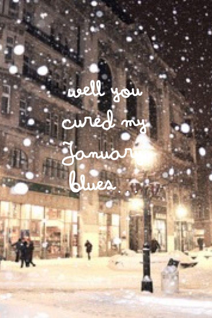 Lyrics with snow