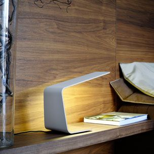 TUNTO / Tunto Design / LED. This lamp is absolutely gorgeous. Love the simplicity. $1000