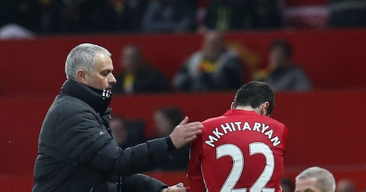 Man Utd news includes an update on why Henrikh Mkhitaryan has not been named in the Europa League squad for the fixture vs St Etienne.