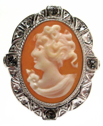 Reflection of Youth Master Carved Carnelian Conch Shell Sterling Silver Cameo Ring Size 8 cameosRus. Save 75 Off!. $94.00. Italian, Imported, New,  Colllector's Item. Artisan Jewelry, One of a Kind, Old World Treasure,. Reflection of Youth,  Heirloom Jewelry, Hand Made, Carnelian Conch Shell,. Beautiful, Cameo Ring, Italian, Master Carved, 925 Sterling Silver,. Size 8, The ring measures, 25 x 20 mm,  0.98 x 0.78 Inches