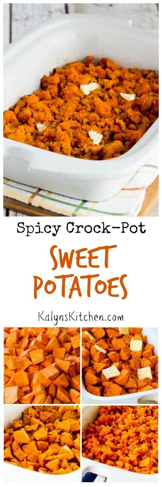 Spicy Crockpot Sweet Potatoes | Cayenne peppers, Ovens and ...