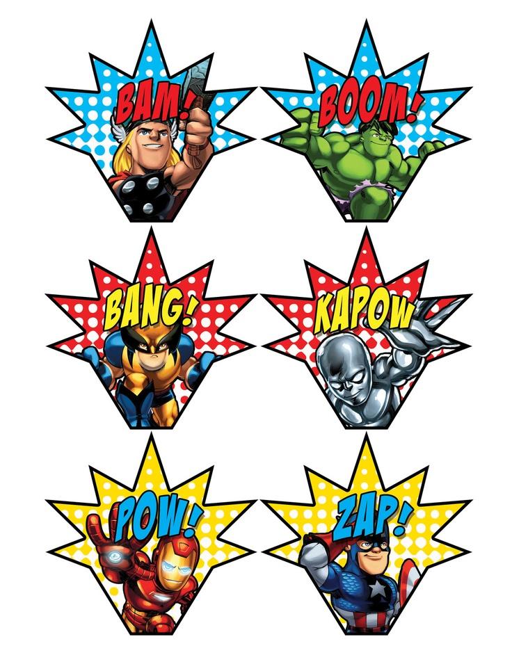 Bulletin board super hero