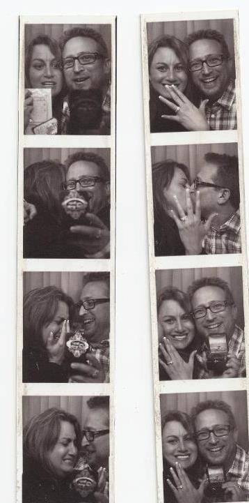 Great wedding proposal idea...congrats to the future Mrs. Fishman!