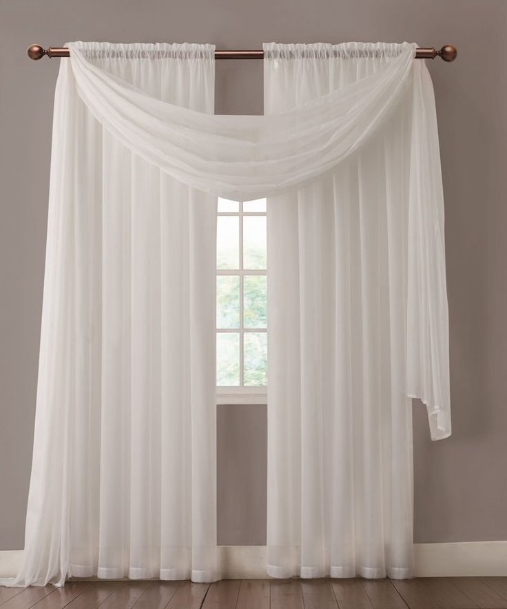 1000 ideas about sheer curtains on pinterest curtains for Sheer panel curtain ideas