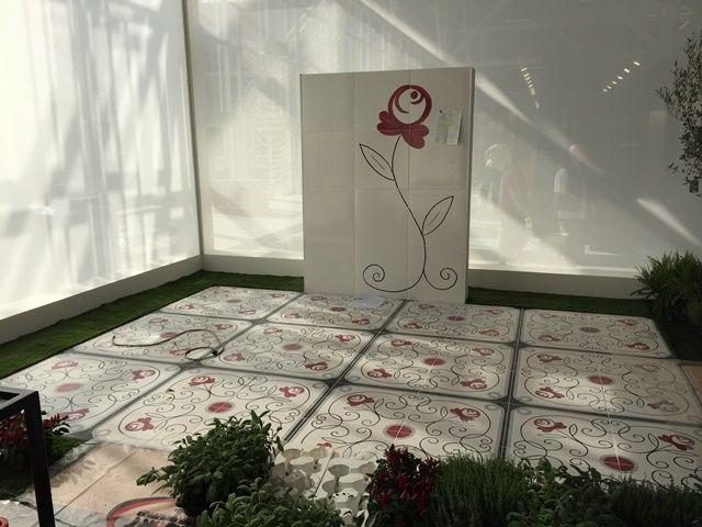 Lo stand Vietri Home Parva Domus Magna Quies al #Cersaie2015 #vietriceramic. Progetto Granese Studio - Architecture & Design di #DiegoGranese. https://www.facebook.com/Vietri-Ceramic-Group-1132337140128573/