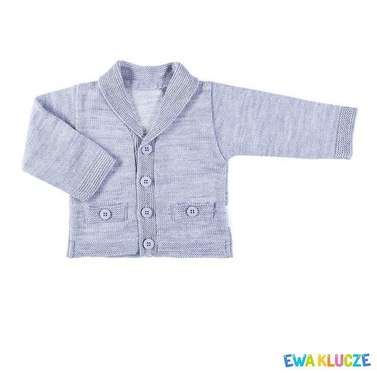 EWA KLUCZE, kolekcja ELEGANT, chrzest, sweterek dla chłopczyka, ubranka dla dzieci, EWA KLUCZE, ELEGANT collection, baby boy knitwear, baby clothes