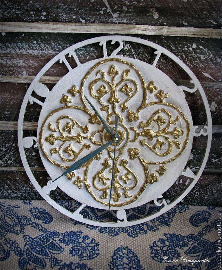 """Купить Часы """"Дворцовые"""" - золотой, часы, часы необычные, часы настенные, часы интерьерные"""