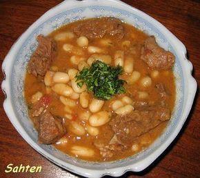 Yakhné Fassoulia (Ragout de haricots blancs) - Cuisine libanaise par Sahten