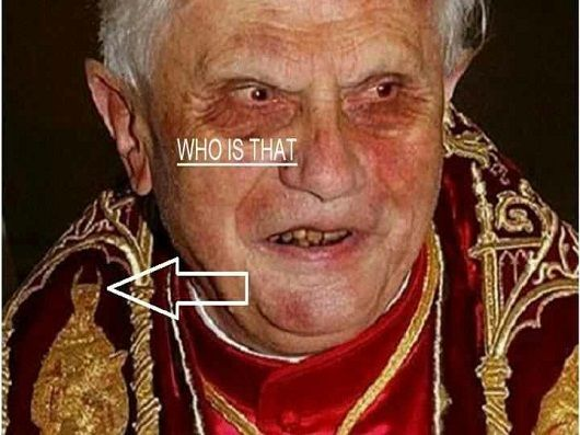 hoax pictures | papal infallibility - belief of the Roman Catholic Church that God ...