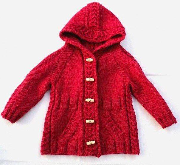 пальто реглан с капюшоном для девочки спицами. Обсуждение на LiveInternet - Российский Сервис Онлайн-Дневников
