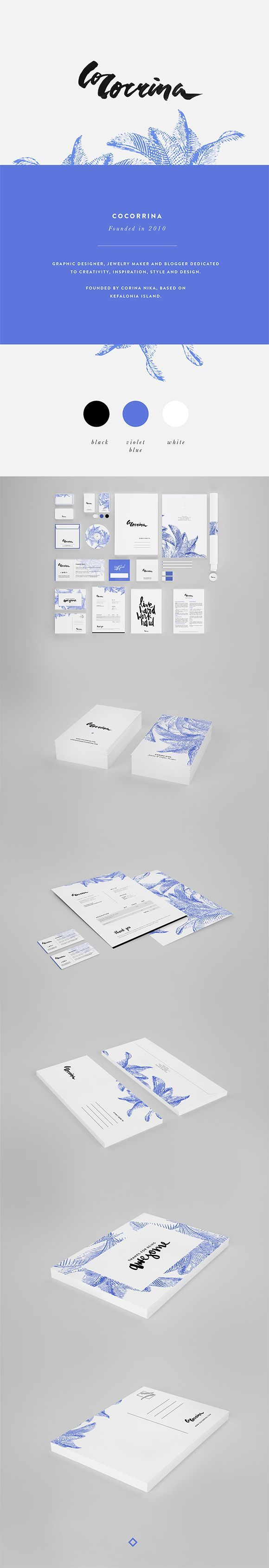 Another branding example. I like the cleanness that the color scheme brings. Everything is obviously well thought out--simple but effective and memorable. Good to think about for cohesiveness in publications.