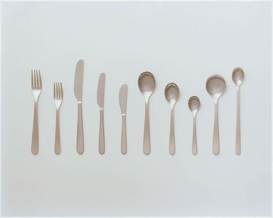 Cutlery, 2007, product designer: Jasper Morrison, photographer: Asuka Katagiri