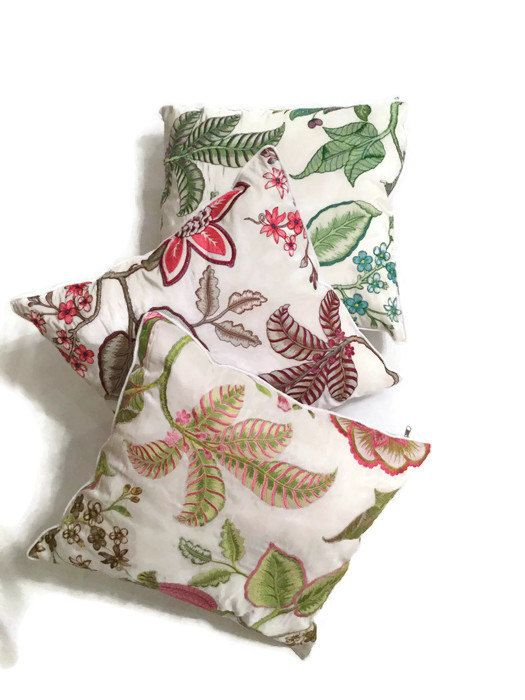 Manuel Canovas Designer Pillow-Decorative Pillow-Luxury Pillow-Floral…