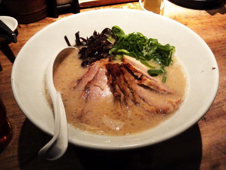 一風堂「チャーシュー麺(白)」