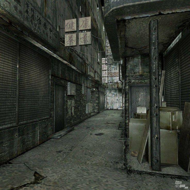Building World (Silent Hill 4)