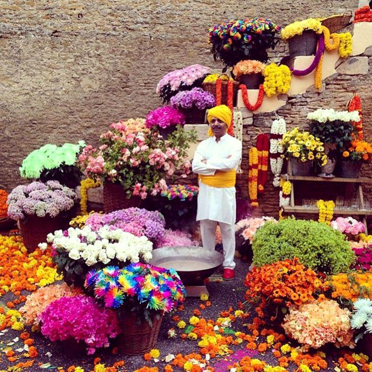 Un mar de flores en #Noormandie