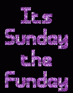 Here is why I love Sundays, have a great weekend!