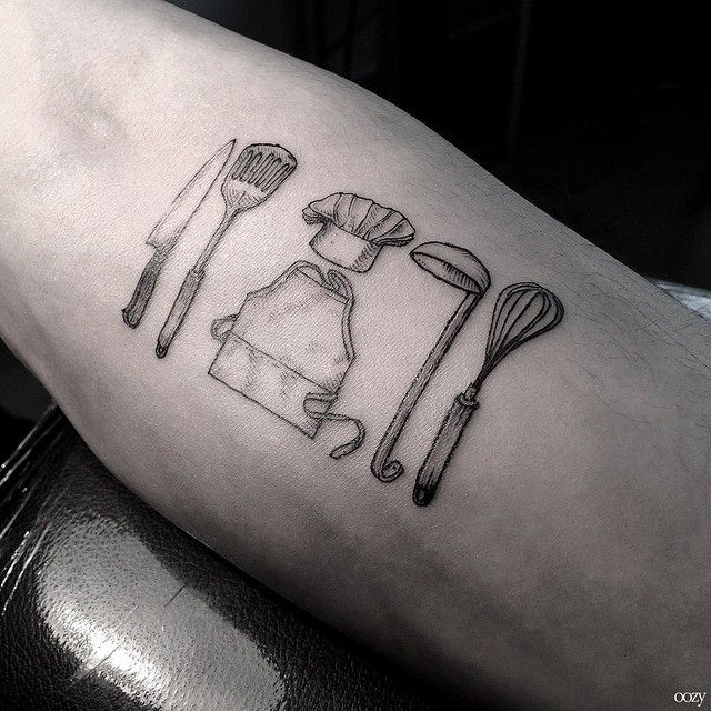 best 25+ culinary tattoos ideas on pinterest | chef tattoo