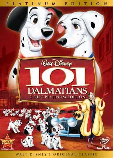 101 dalmatians..classic disney at its best.