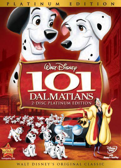 101 dalmatians..classic disney at its best.