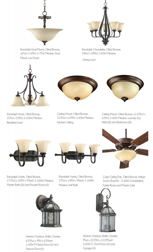 Upgrade lighting package in oiled bronze with low foyer light fixture option. $999.  sc 1 st  Pinterest & 10 best Home Lighting Packages images on Pinterest | Ceiling fans ... azcodes.com