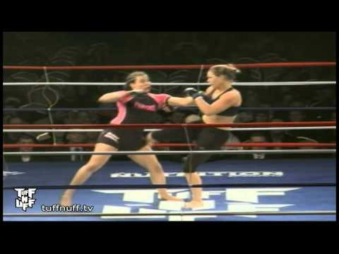 3rd amateur fight of ronday rousey, just before becoming pro | MMA WMMA