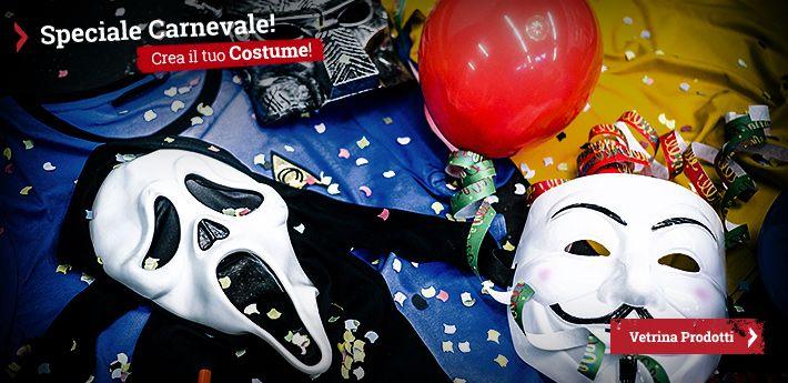 Pronti per festeggiare il periodo più colorato e dolce dell'anno? Stiamo parlando del Carnevale, la festa che precede il periodo di Quaresima. Tradizione vuole che il periodo di Carnevale sia caratterizzato da feste, giochi, dolci tipici e si concluda con il banchetto del martedì grasso. Il tutto, rigorosamente mascherati. Siete a caccia di idee e spunti per costumi, accessori e scherzi da fare? Venite con noi a scoprire 6 idee divertenti e originali per il Carnevale!