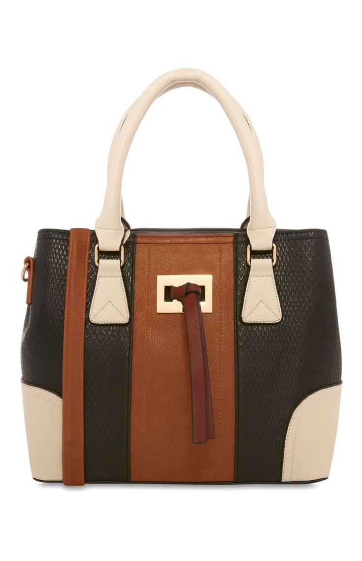Primark - Tan Black Western Bag £10.00