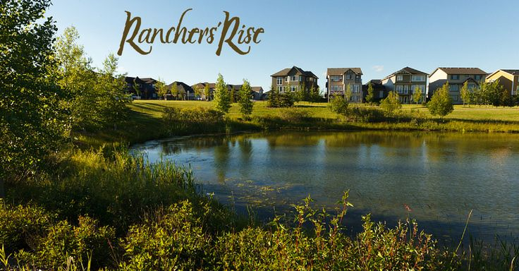 """""""Now this is a neighbourhood worthy of your backyard BBQs and summer parties! You will feel proud to call Ranchers' Rise your home. Come check out our show homes. """" http://rgn.bz/fPcr"""