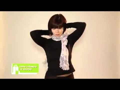 ▶ Ways to Wear a Scarf - Modi di indossare una Sciarpa - YouTube