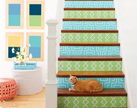 On craque pour les escaliers customisés !