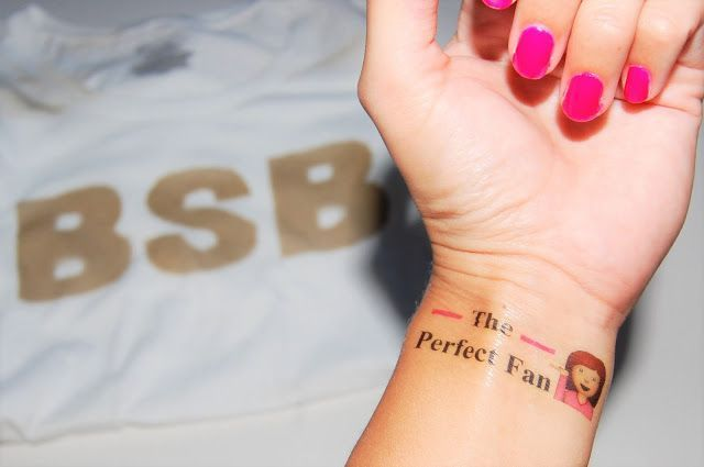 DIY BSB Temporary Tattoos This is a super easy DIY project! I mean, who doesn't …,  #BSB #D…