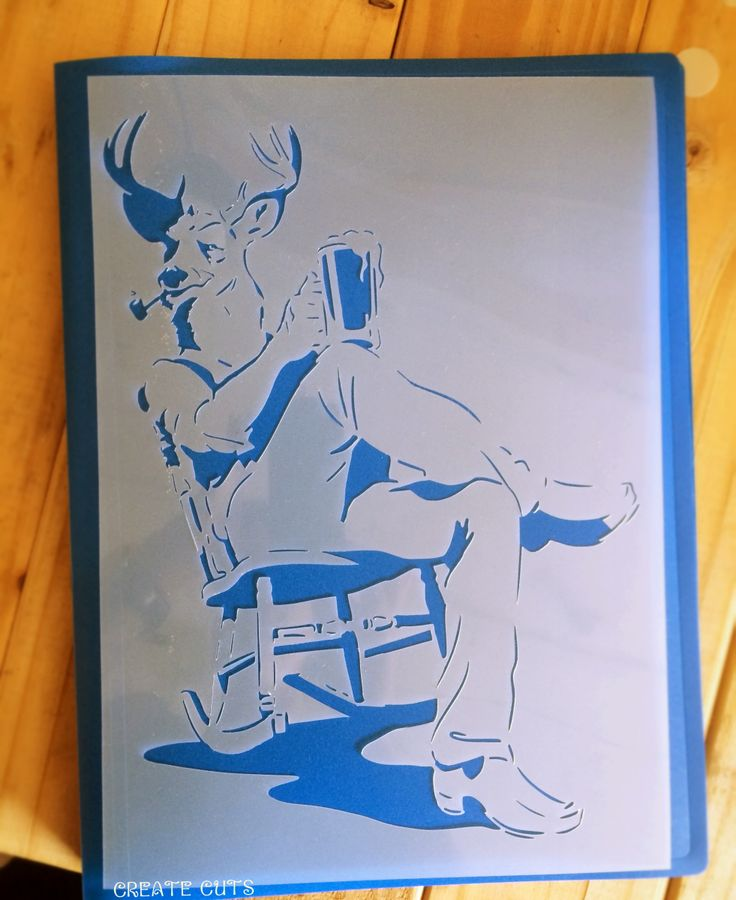 Custom stencil for Ras L'Block brewery - CreateCuts