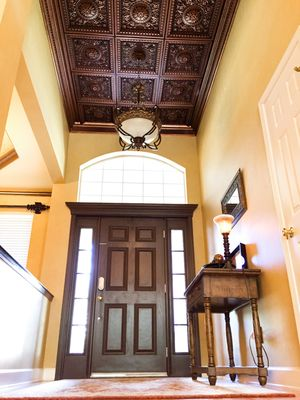 Da Vinci Faux Tin Ceiling Tile Drop In 24 X24 215