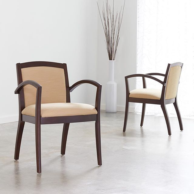 This Attractive Guest Chair Which Has Sleek Lines Can Be Placed In A Private Office Waiting Room Or Conference