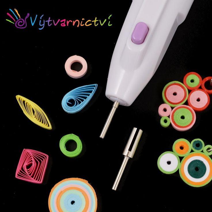 Elektrické quillingové pero (electric quilling pen)